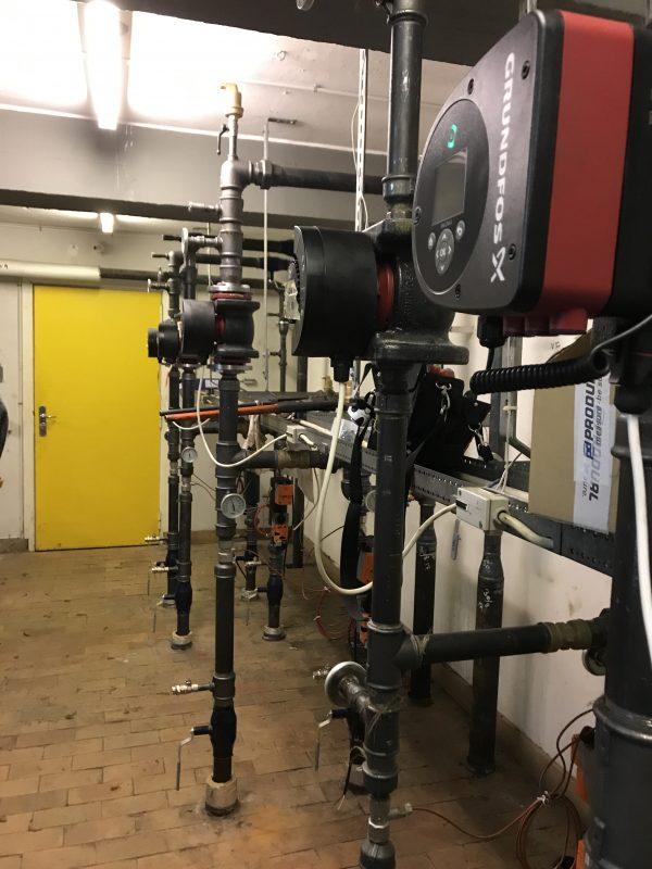 Renovering af varmecentral på Skovgårdsskolen