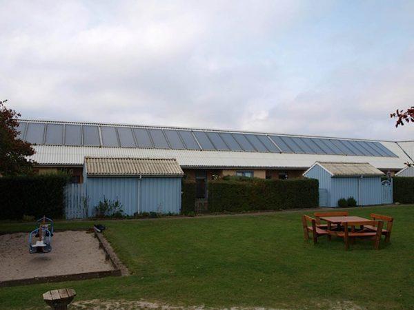 Energibesparelse med solvarme