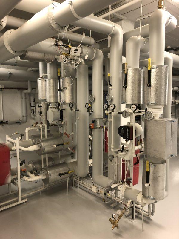 Renovering af varmecentral, Breelteparken